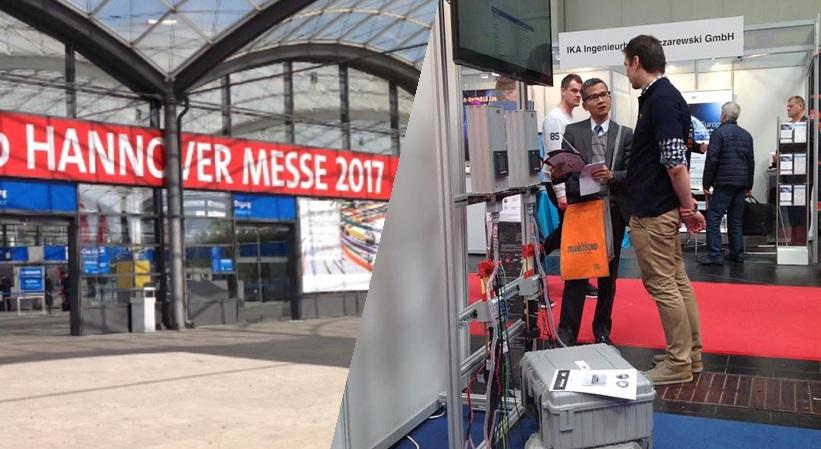 Kilnojamas daugiafunkcinis galios matuoklis sėkmingai pristatytas parodoje Hannover Messe 2017